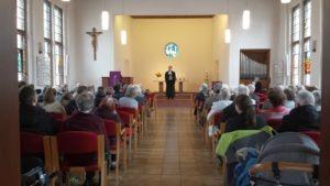 Gottesdienst mit Dank für Ehrenamt am Sonntag Invokavit in der Gnadenkirche